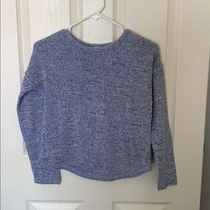 Blue crew neck Old Navy sweater